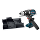 Factory Reconditioned Bosch DDH181XBN-RT 18V Cordless Lithium-Ion Brute Tough 1/2 in. Drill Driver and Exact-Fit Tool Insert Tray (Bare Tool)