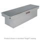 Delta Pro/JOBOX PAC1585002 Aluminum Single Lid Super Deep Full-size Crossover Truck Box (Black)