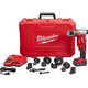 Factory Reconditioned Milwaukee 2677-81 M18 Force Logic 18V Cordless Lithium-Ion 6T 1/2 in. - 2 in. Knockout Tool Kit