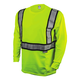 Dewalt DST921-L ANSI 107-2010 Class 2 Long Sleeve FR T-Shirt (Large)