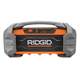 Factory Reconditioned Ridgid ZRR84087 18V Jobsite Radio with Bluetooth Wireless Technology