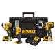 Factory Reconditioned Dewalt DCKTS386D2R 20V MAX 2.0 Ah Cordless Lithium-Ion 3-Piece Combo Kit