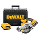 Factory Reconditioned Dewalt DCS390LR 18V XRP Cordless Lithium-Ion 6-1/2 in. Circular Saw Kit