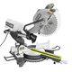 Factory Reconditioned Ryobi ZRTSS120L 15 Amp 12 in. Sliding Compound Miter Saw with Laser