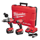 Milwaukee 2899-22 M18 FUEL 5.0 Ah Cordless Lithium-Ion 2-Tool Combo Kit