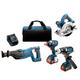 Bosch CLPK430-181 18V Lithium-Ion Heavy Duty 4-Tool Combo Kit