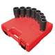 Sunex 4681 8-Piece 3/4 in. Drive SAE Deep Impact Socket Set