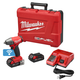 Factory Reconditioned Milwaukee 2758-82CT M18 FUEL 2.0 Ah Cordless Lithium-Ion 3/8 in. Compact Impact Wrench Kit with Friction Ring & ONE-KEY Connectivity