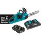 Makita XCU03PT 18V X2 LXT 5.0 Ah Brushless Chainsaw Kit