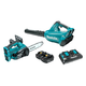 Makita XT274PT 18V X2 LXT 5.0 Ah 2-Piece Blower & Chainsaw Kit