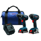 Factory Reconditioned Bosch CLPK232A-181-RT 18V 2.0 Ah Cordless Lithium-Ion Impact Driver & Drill Combo Kit