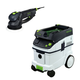 Festool P36571810 Rotex 6 in. Multi-Mode Sander with CT 36 E 9.5 Gallon HEPA Dust Extractor