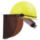 Fibre-Metal FM70 High Performance Protective Cap Brackets, Faceshield Peak Mounting, Dielectric