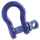 Campbell 193-5410805 419-S Series Screw Pin Shackles, 1/2-in Bail, 2-Ton Capacity