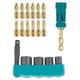 Makita B-53970 18 Pc Ultra-Magnetic Insert Bit and Impact Socket Set
