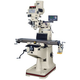 JET 691190 Mill with NEWALL DRO DP700 3-Axis Quill Installed
