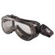Crews 2410F Verdict Goggles, Gray/Clear
