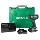 Hitachi WR18DBDL2 18V Cordless Lithium-Ion 1/2 in. Impact Wrench with (2) 6.0 Ah Batteries