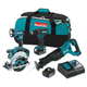 Makita XT442 18V LXT Cordless Lithium-Ion 4-Tool Combo Kit