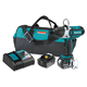 Makita XWT01T 18V LXT Cordless Lithium-Ion 7/16 in. Hex Impact Wrench Kit