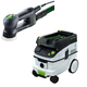 Festool P26571823 Rotex 3-1/2 in. Multi-Mode Sander with CT 26 E 6.9 Gallon HEPA Dust Extractor