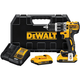 Factory Reconditioned Dewalt DCD796D2R 20V MAX Cordless Lithium-Ion Brushless Compact Hammerdrill Kit with (2) Bluetooth Battery Packs