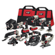 Factory Reconditioned Porter-Cable PCCK619L8R 20V MAX Cordless Lithium-Ion 8-Tool Combo Kit