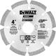 Dewalt DW4781 4 in. HP Segmented Diamond Blade