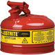 Justrite 7110100 Type I Steel Safety Can for Oil (1 Gallon)