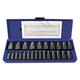 Irwin Hanson 53227 Hex Head Multi-Spline Screw Extractors - 532 Series - Plastic Case Sets