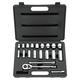 Bostitch 576-85-404 20-Piece 3/8 in. Drive 12-Point SAE Standard/Deep Socket Set