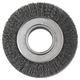 Anderson 066-01134 6 in. Diameter 2 in. Arbor Crimped-Wire Wheel