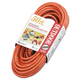 Coleman Cable 172-04218 50 ft. Vinyl 3-Outlet Outdoor Extension Cord (Orange)