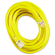 Coleman Cable 172-02688 50 ft. Vinyl Extension Cord (Yellow)