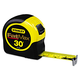 Stanley 33730 FatMax 30 ft. Tape Rule with Plastic Case (Black/Yellow)
