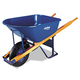 Jackson Professional 027-M6FFBB 6 cu-ft. Flat-Free Wheel Contractor Wheelbarrow