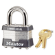 Master Lock 470-1DCOM No. 1 4 Pin Laminated Steel Pin Tumbler Padlock