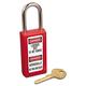 Master Lock 470-411RED Lightweight Zenex Safety Lockout Padlock (6-Pack)