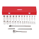 Proto J54126 30-Piece 1/2 in. Drive 12-Point SAE Mechanic's Tool Set