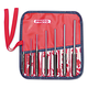 Proto 577-49007 7-Piece Alloy Steel Roll Pin Punch Set