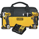 Dewalt DCK285C2 20V MAX Cordless Lithium-Ion 1/2 in. Compact Hammer Drill and Impact Driver Combo Kit