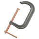 Anchor ANR408C 8 1/4 in. Drop Steel Forged Gray C Clamp