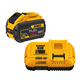 Dewalt DCB118X1 60V Cordless Lithuim-Ion 9.0 Ah FlexVolt Fan-Cooled Fast Charger
