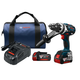 Bosch HDH183-01 18V 4.0 Ah EC Cordless Lithium-Ion Brushless Brute Tough 1/2 in. Hammer Drill Driver Kit