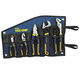Irwin Vise-Grip 2078708 5-pc ProPlier Set, Slip Joint, Lineman Plier, Adj. Wrench, Groove Joint,Tray,Bag