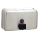 Bobrick 2112 Classicseries Surface-Mounted Liquid Soap Dispenser, 40 Oz, Metal