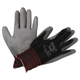 AnsellPro 103360 HyFlex Lite Gloves, Black/Gray, Size 7, 12 Pairs