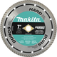 Makita A-94611 7 in. Turbo Rim Hard Material Diamond Saw Blade