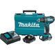 Factory Reconditioned Makita XFD10R-R 18V Cordless Lithium-Ion Compact 1/2 in. Driver Drill Kit