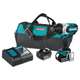 Makita XWT07T 18V LXT 5.0 Ah Brushless High Torque 3/4 in. Impact Wrench Kit